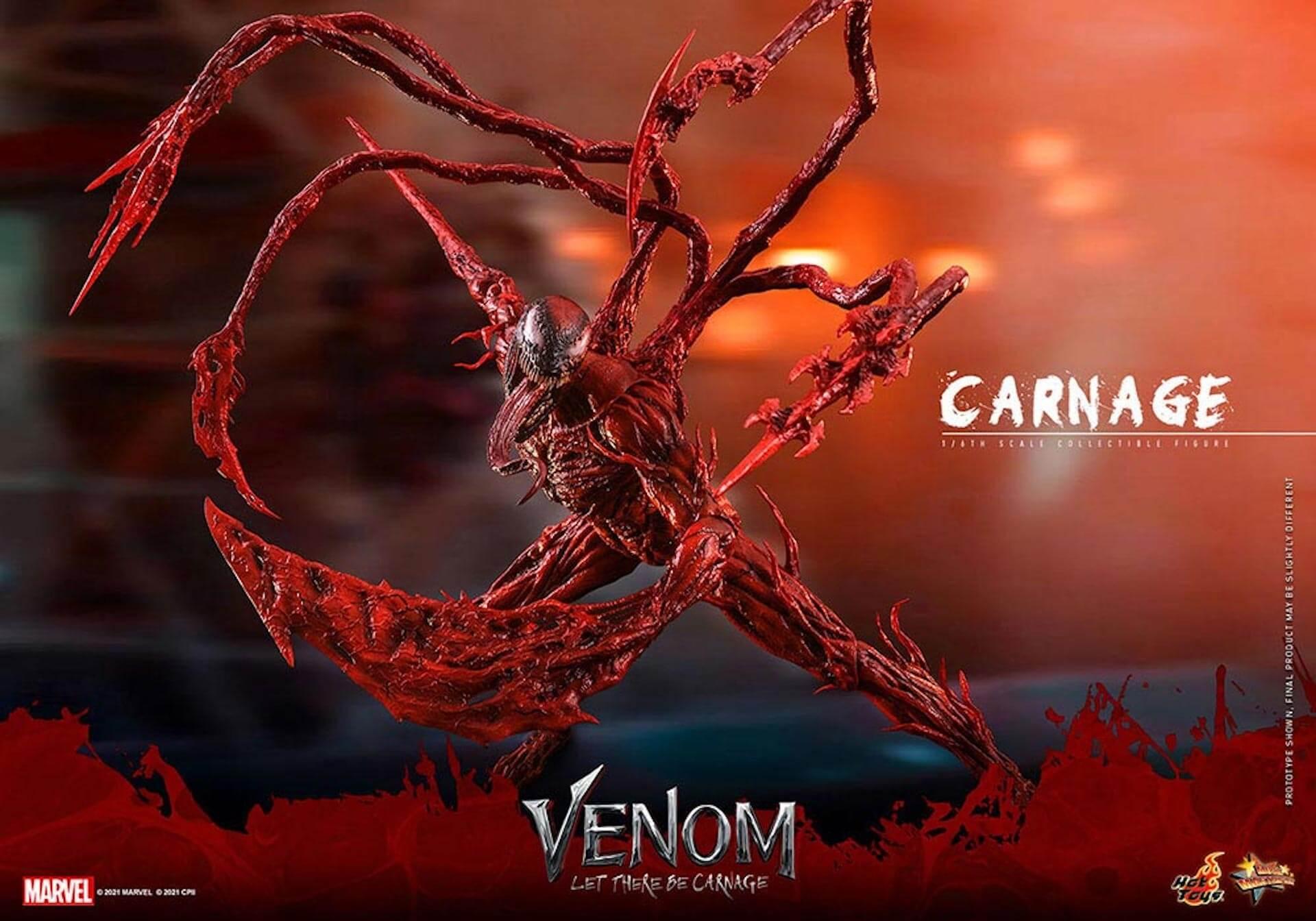 全米大ヒット中の『ヴェノム:レット・ゼア・ビー・カーネイジ』カーネイジがホットトイズでフィギュア化! art211007_venom_carnage_hottoys_9