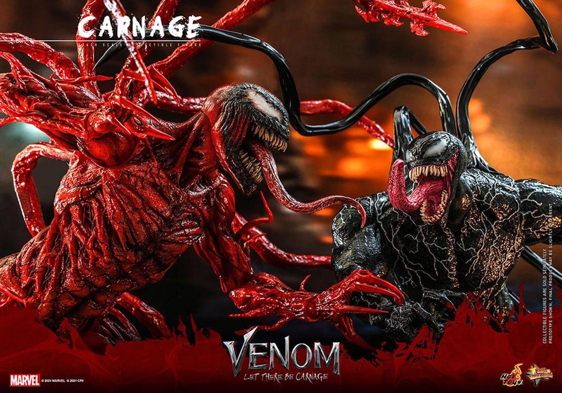 全米大ヒット中の『ヴェノム:レット・ゼア・ビー・カーネイジ』カーネイジがホットトイズでフィギュア化! art211007_venom_carnage_hottoys_10