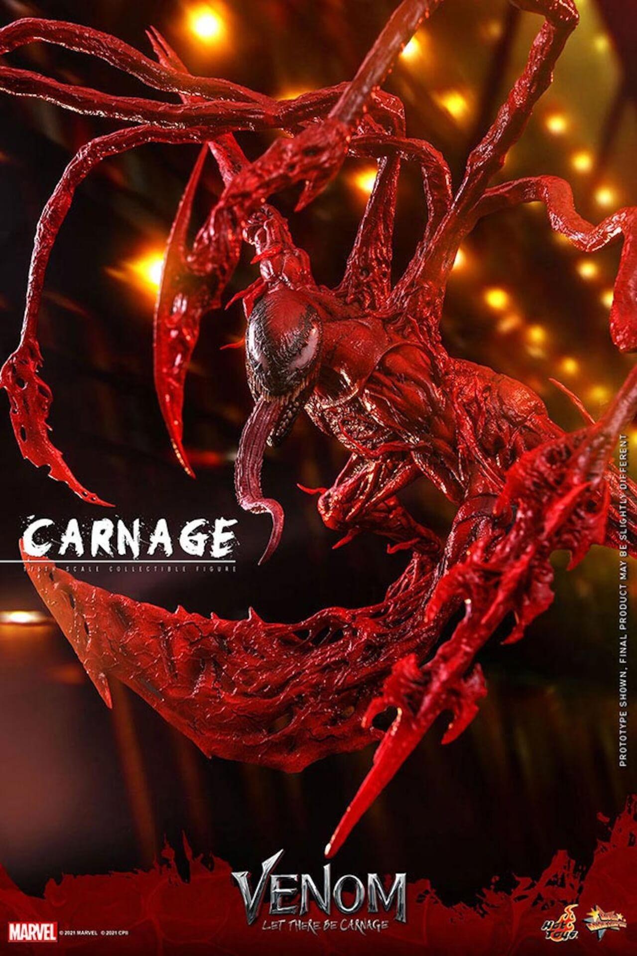 全米大ヒット中の『ヴェノム:レット・ゼア・ビー・カーネイジ』カーネイジがホットトイズでフィギュア化! art211007_venom_carnage_hottoys_13