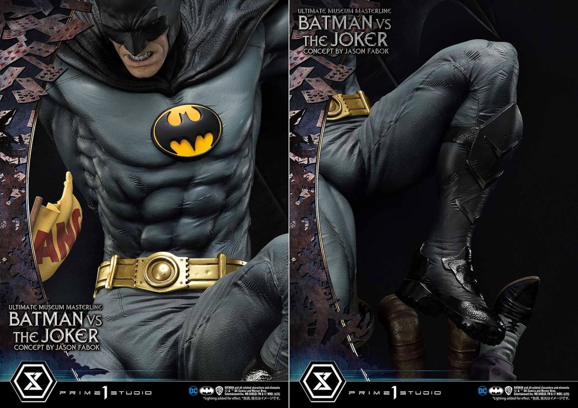 """バットマンとジョーカーによる永遠の戦いがフィギュアに!「バットマンVSジョーカー """"コンセプト by ジェイソン・ファボック""""」が予約受付スタート art211007_batman_joker_figure_8"""