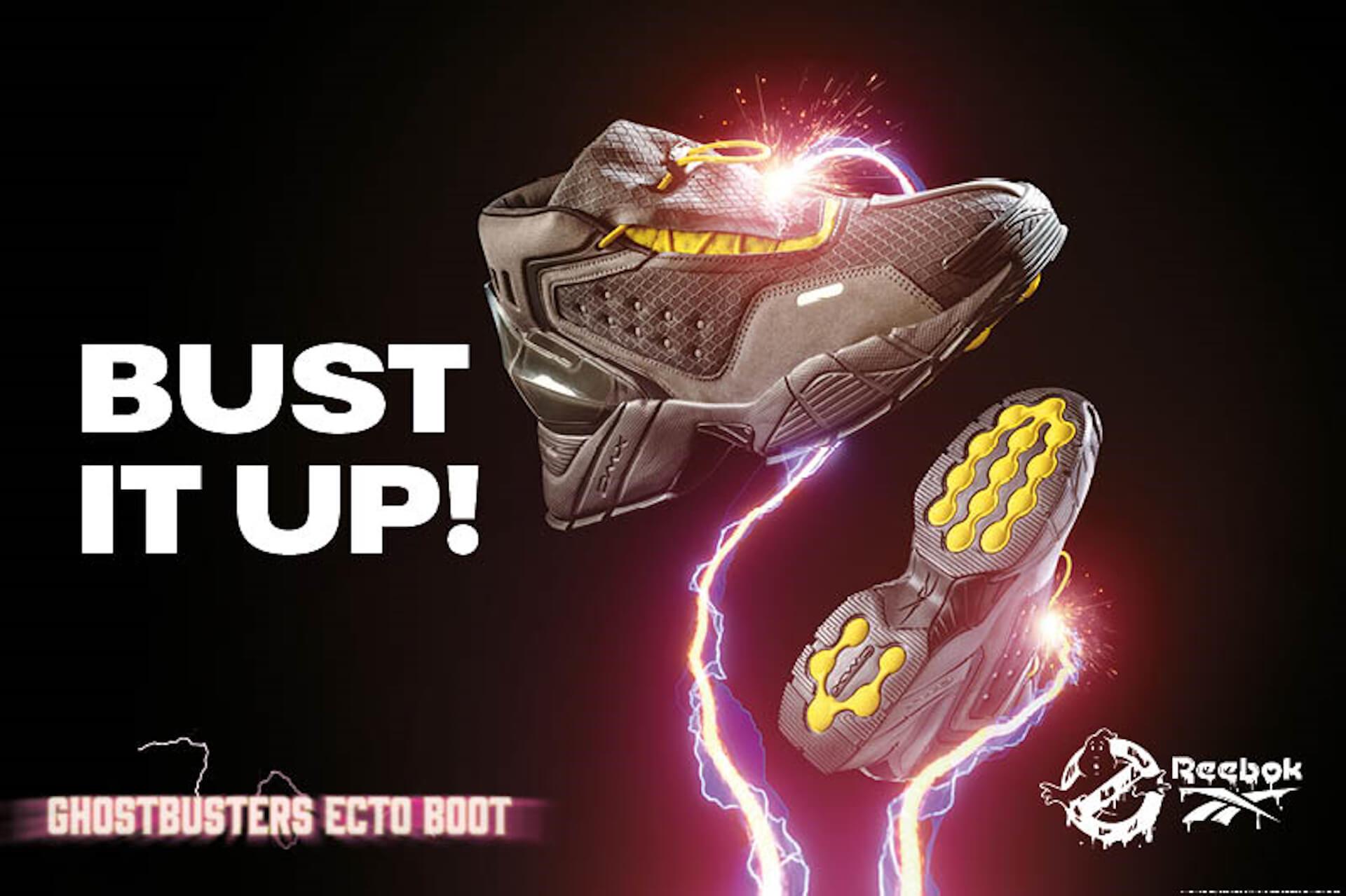 リーボックと「ゴーストバスターズ」のコラボコレクションが登場!「Ecto Boot」、「Answer IV」など5アイテムが発売 life211008_reebok_gb_1