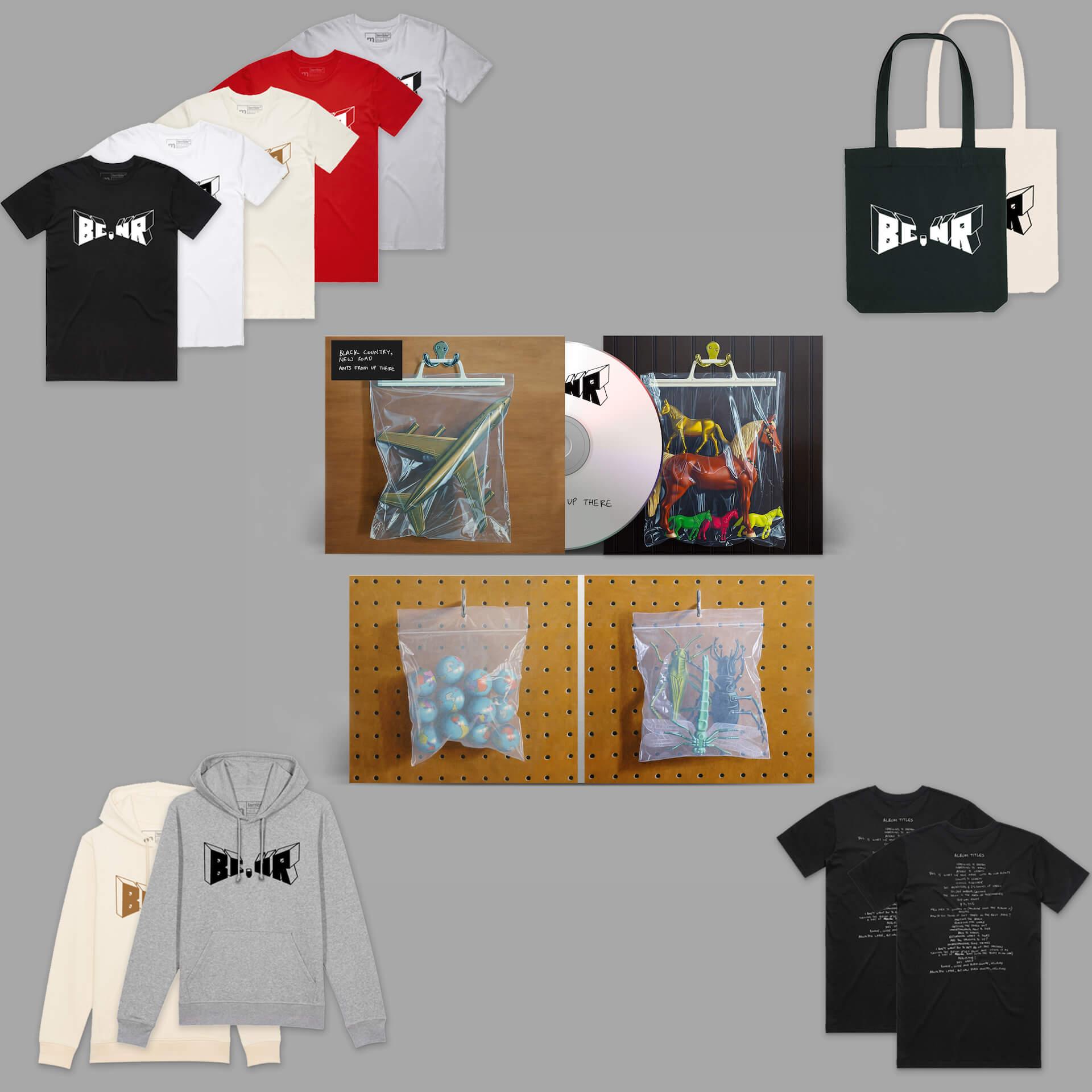 """衝撃のデビューを飾ったBlack Country, New Roadが2ndアルバム『Ants From Up There』のリリースを発表!""""Chaos Space Marine""""を先行配信 music211012_blackcountrynewroad_14"""