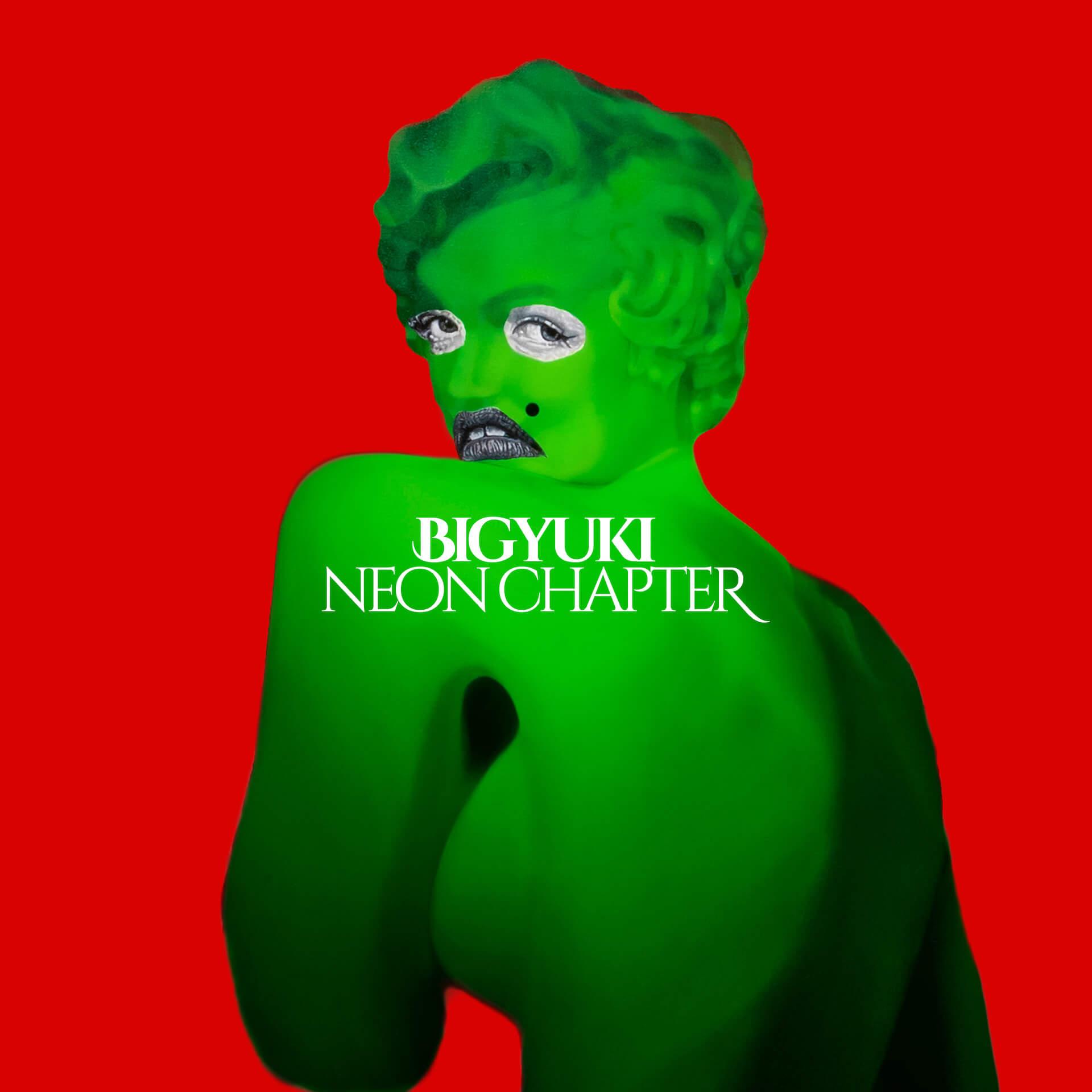 BIGYUKIのニューアルバム『Neon Chapter』が本日リリース!Arto Lindsay、ハトリミホらが参加 music211013_bigyuki_1