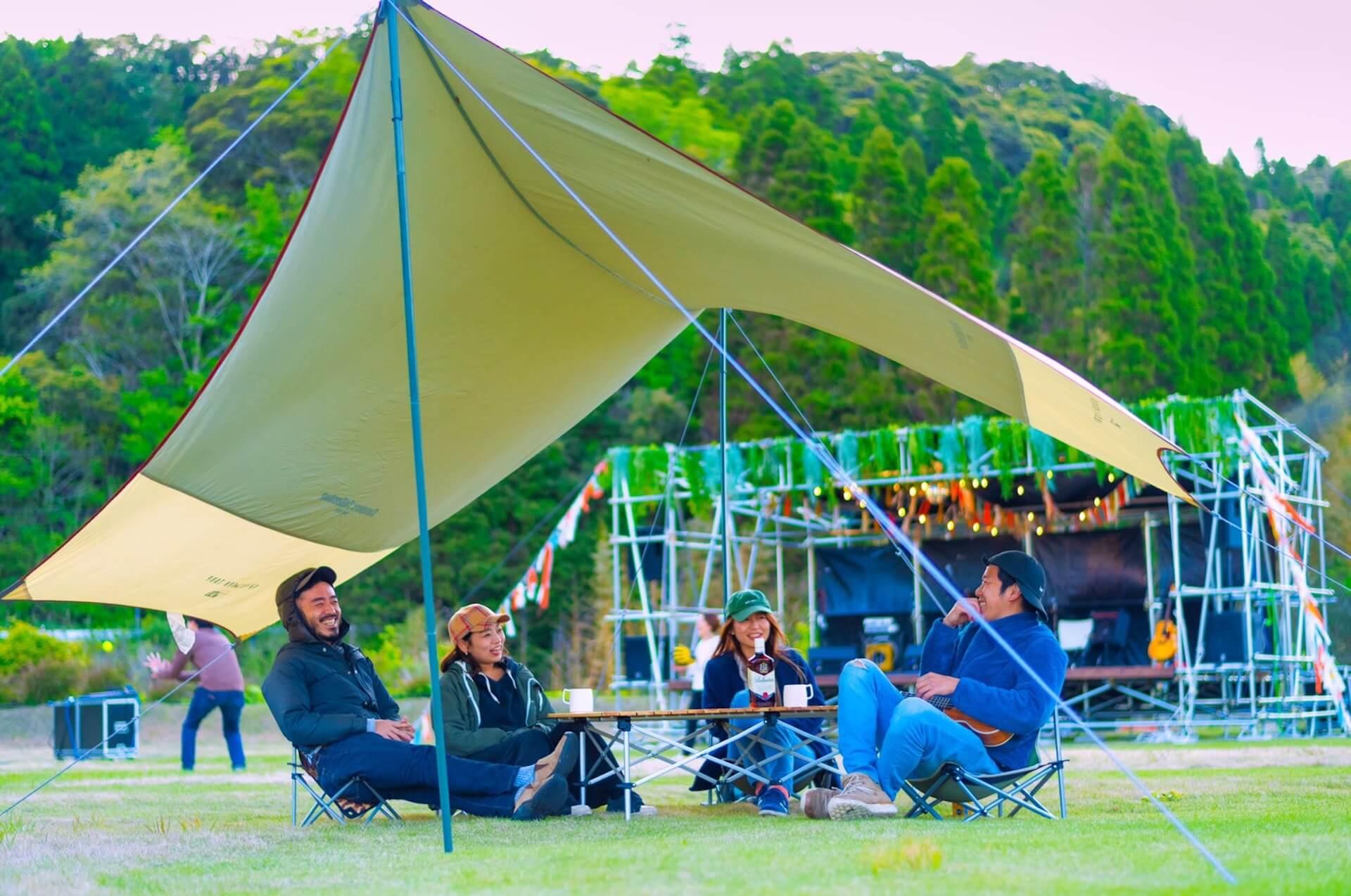 音楽と瞑想、ヨガ、サウナで心を癒し整えるキャンプフェス<SOUL RETREAT CAMP 2021>が開催決定! culture20121_soulretreatcamp_14