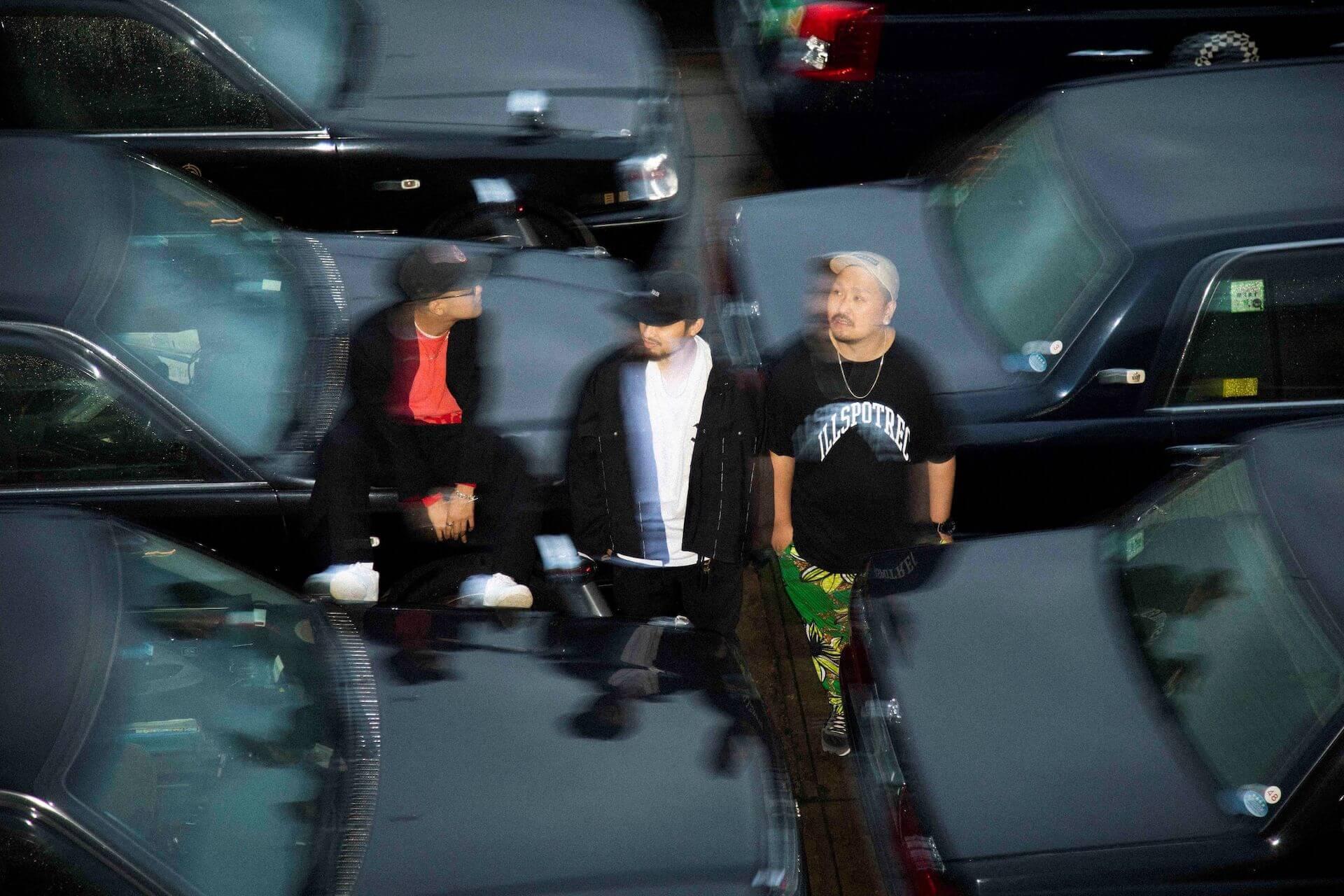 BLABLA、Vue du monde、m-alが結成したユニット・PACK3のデビュー・アルバム 『PACKQAGE』 が本日リリース!客演にはKANDYTOWN・DIAN&MUDやOMSBらが参加 music2020124_pack3_packqage_1