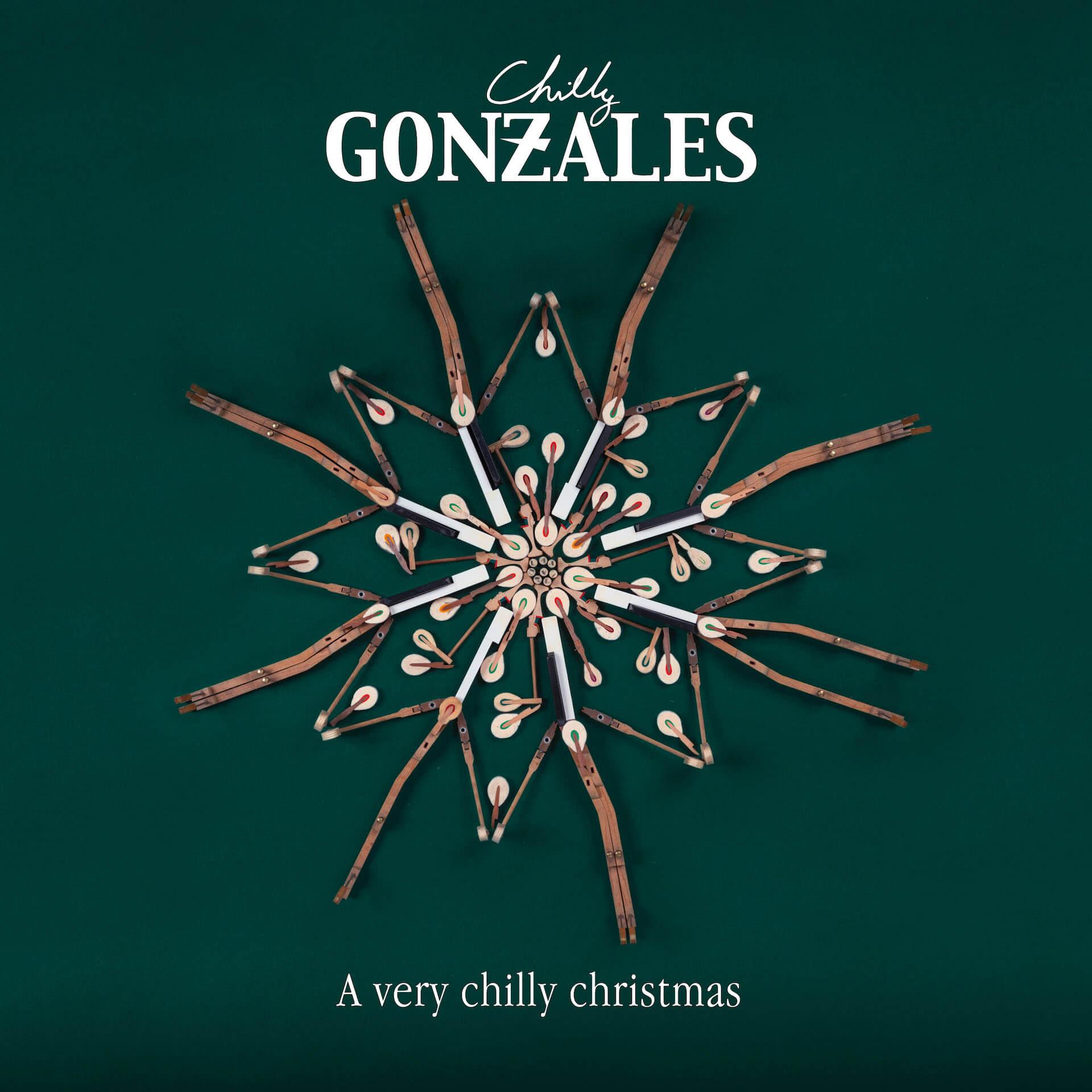 Chilly Gonzalesがクリスマス・アルバム『A very chilly christmas』リリース記念にスペシャルライブ配信を開催!クリスマス・ミックステープもリリース music20124_chillygonzales_averychilly-christmas_3