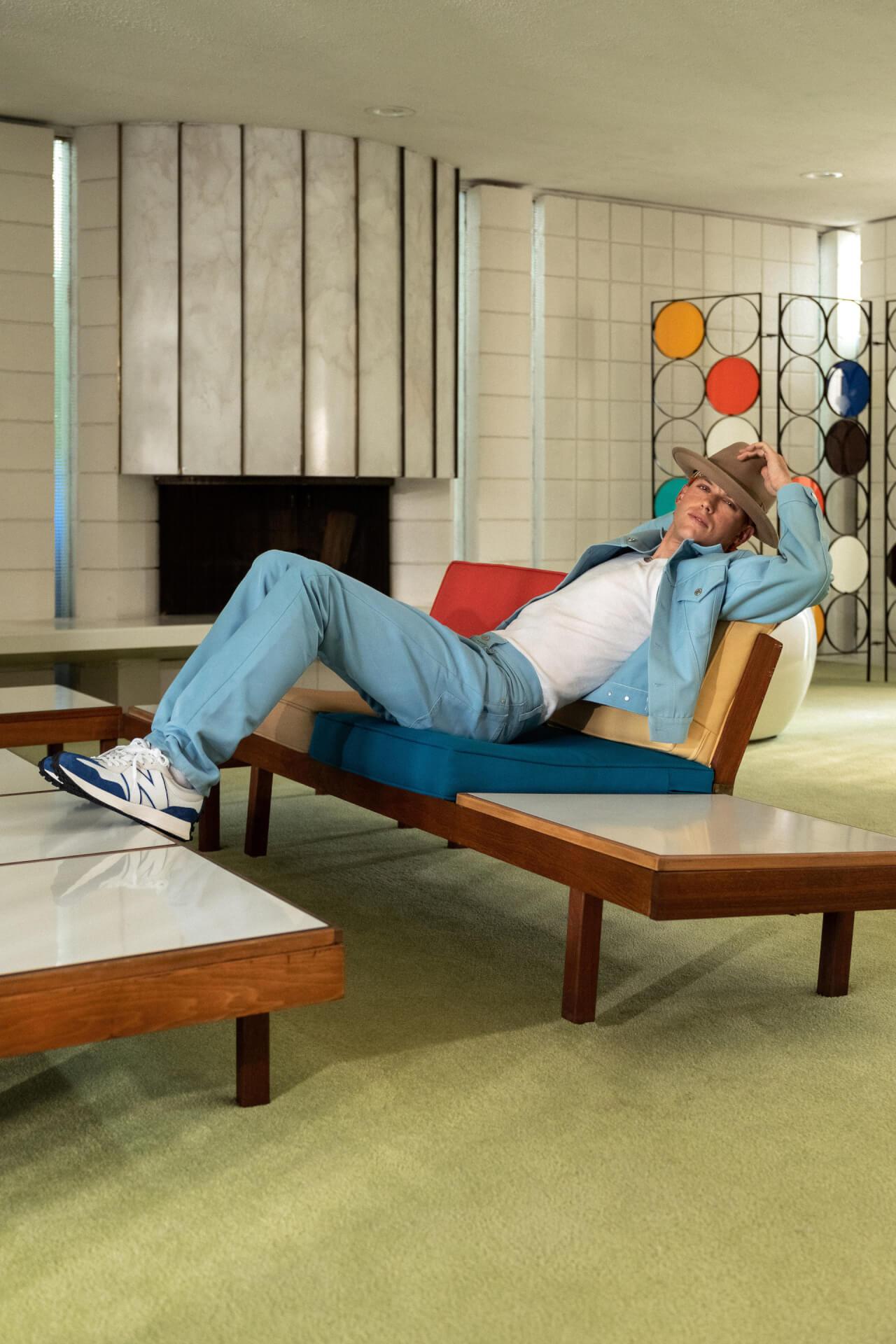 ニューバランスの人気モデル「327」に新色『327 primary pack』が登場!キャンペーンビジュアルにはハリー・ハドソンを起用 fashion20128_newbalance_327primarypack_17