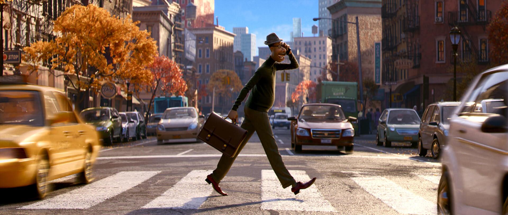 ディズニープラスで配信の『ソウルフル・ワールド』ジェイミー・フォックスが語るジョーのキャラクター性とは?ディズニー&ピクサー最新作の特別映像が解禁! film201215_soulfullworld_specialmovie_1