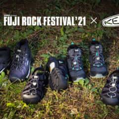 Fujirock × KEEN コラボ第2弾