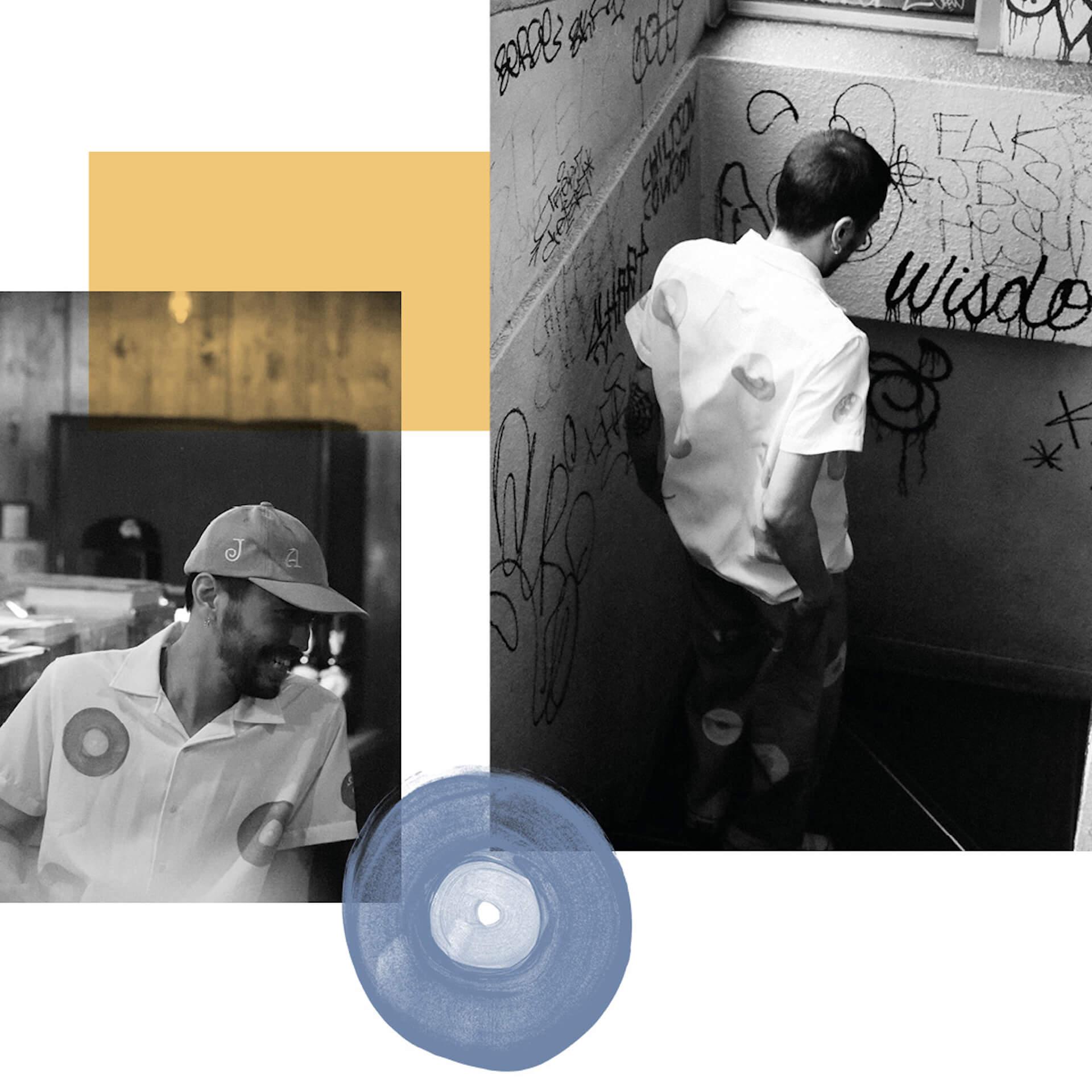 Receptionと渋谷のレコードバーJBSによるカプセルコレクションがローンチ! Fation210615_JSB-lookbook3