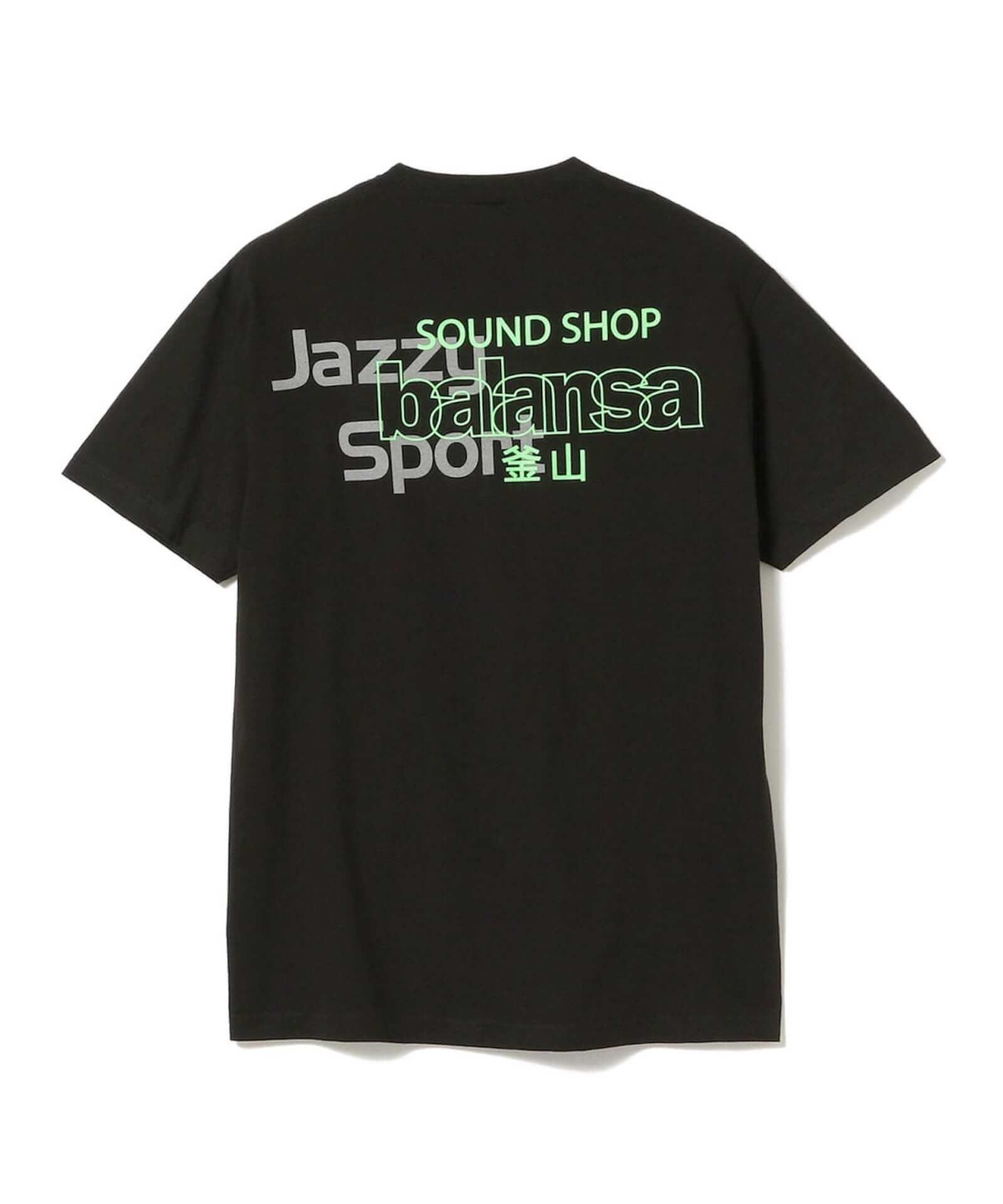 Jazzy Sport×SOUND SHOP balansaコラボTシャツがリリース決定!Beams限定販売&韓国限定のデザインも 11086034600_C_1