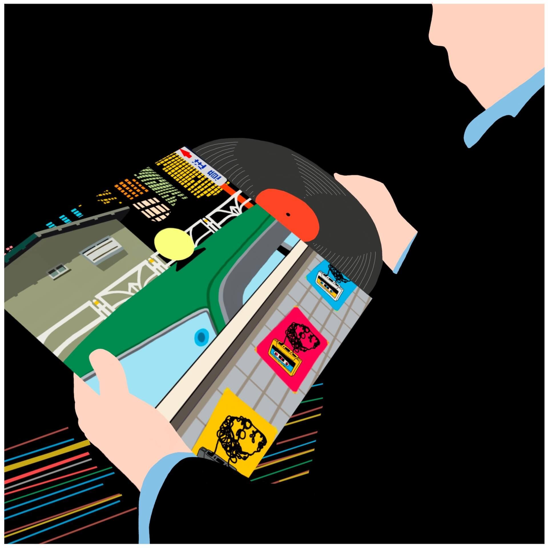 """冨田ラボによる""""夜汽車 feat. BASI & kojikoji""""がリリース決定!ミュージックビデオも公開 music210622_tomitalabo4"""