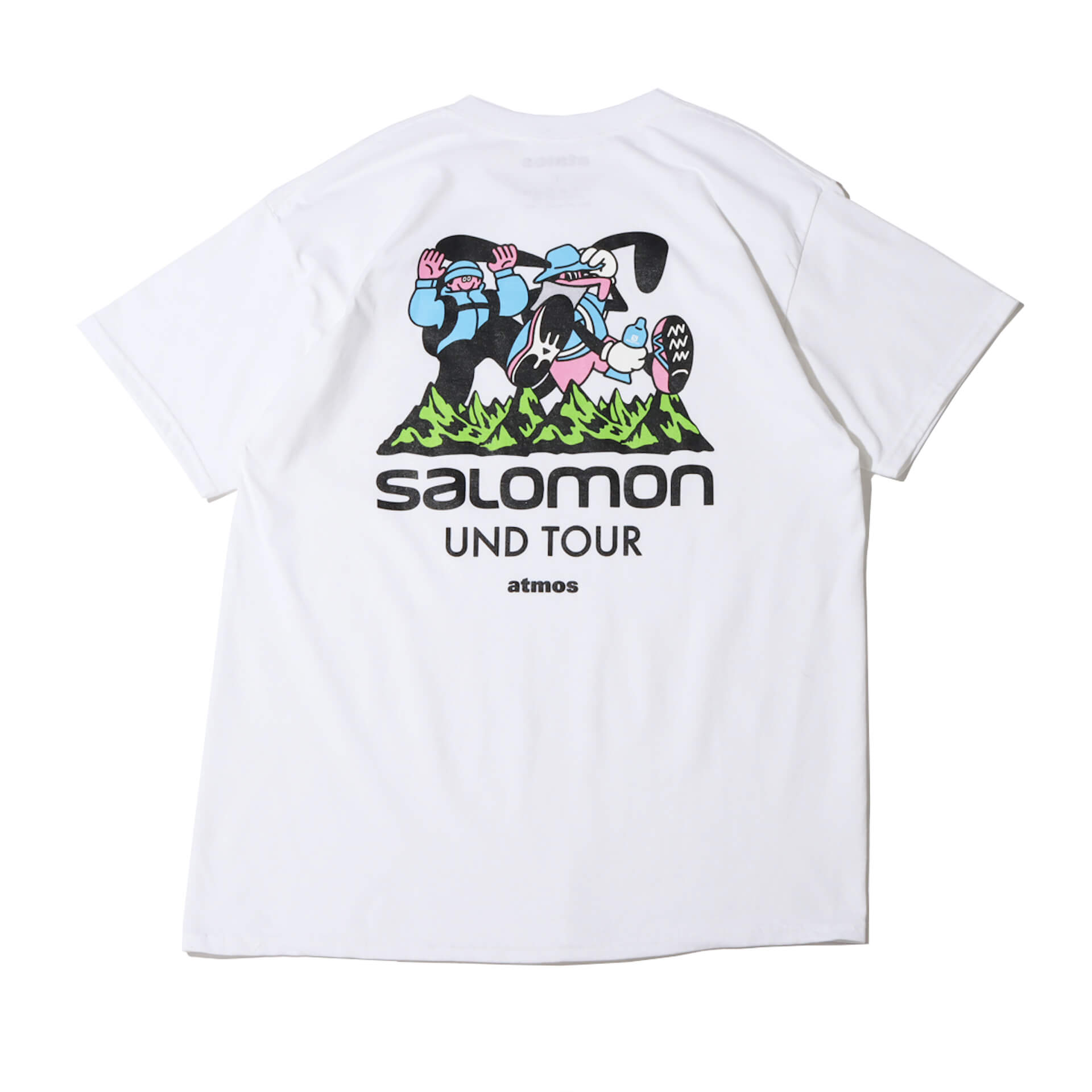 イラストレーターFACE、SHINKNOWNSUKEによるアートユニットUNDによる<First steps with Salomon〜UND TOUR〜>アート展が開催! Fashion210622_und_atoms15
