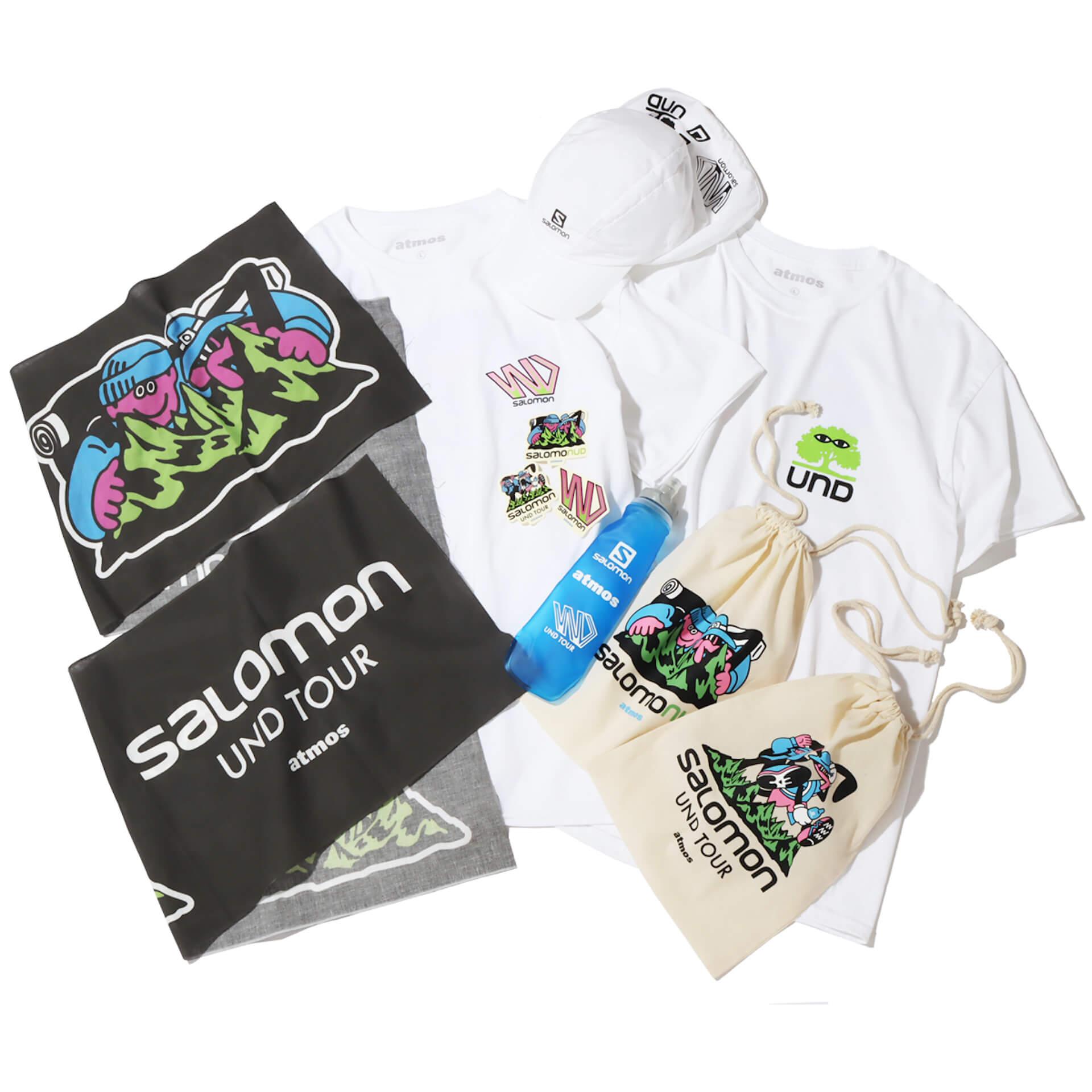 イラストレーターFACE、SHINKNOWNSUKEによるアートユニットUNDによる<First steps with Salomon〜UND TOUR〜>アート展が開催! Fashion210622_und_atoms19