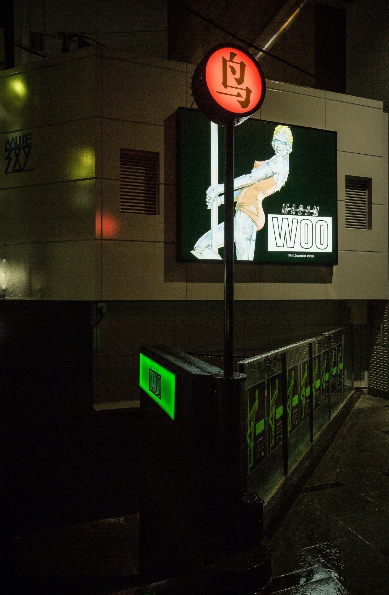 ジェントルマンズクラブMADAM WOOが待望の2号店MADAM WOO OSAKAを大阪・心斎橋にオープン! culture210621_woo1