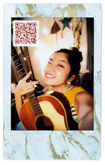 "#StayHome|Rihwaが""音チェキ""で届ける10秒メッセージ LifeFashion200528_cheki-Rihwa_2"