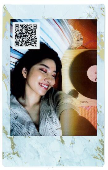 "#StayHome|Rihwaが""音チェキ""で届ける10秒メッセージ LifeFashion200528_cheki-Rihwa_3"