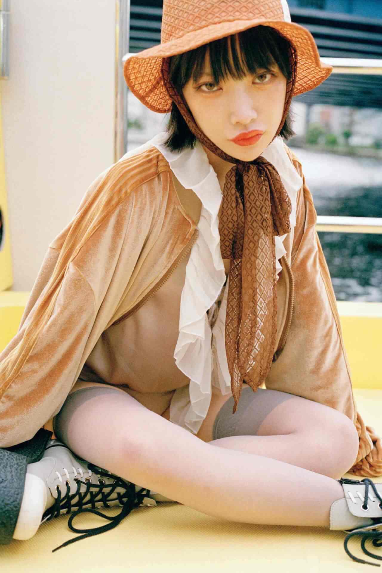 かてぃのファッションドキュメンタリーブック『ファッションカルト』の誌面カットが到着! lifefashion_katy_1