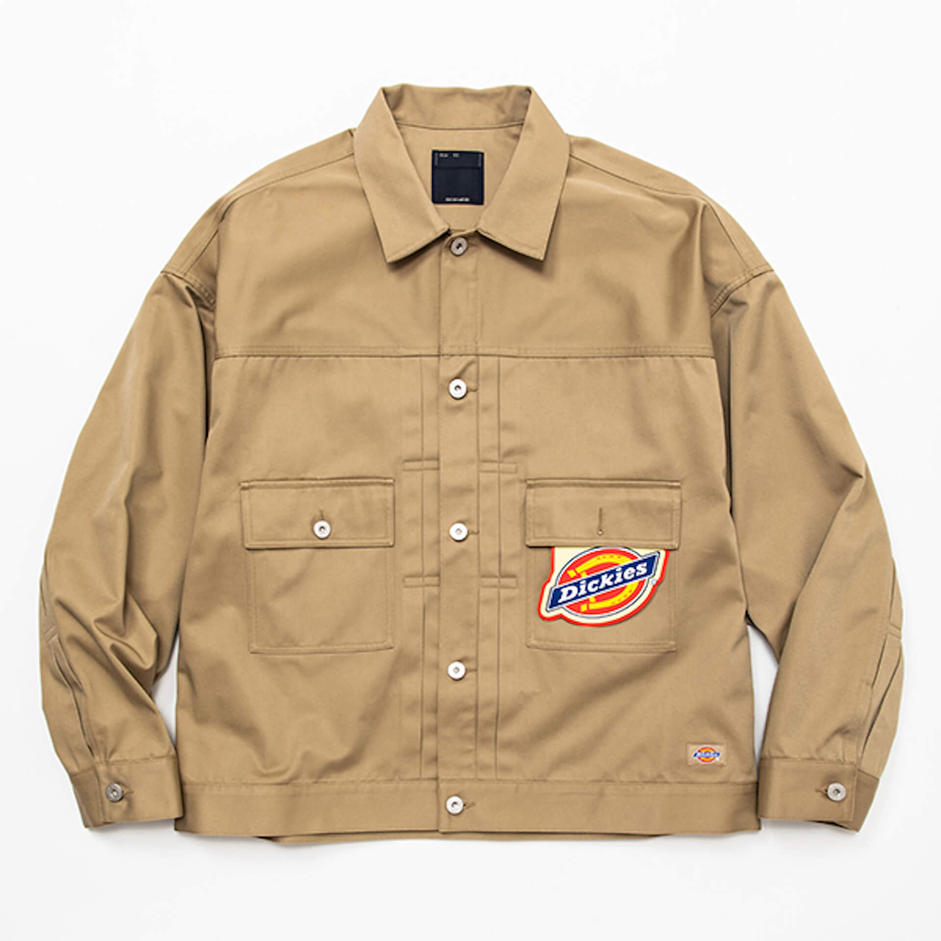 meanswhileとDickiesコラボ第2弾!定番素材を使用したセットアップが登場 lifefashion210901_meanswhile_3