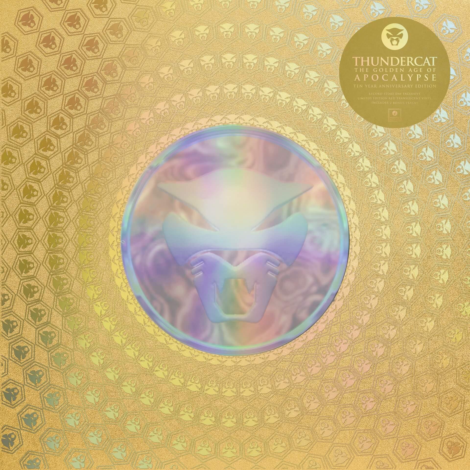 Thundercat『Golden Age of Apocalypse』10周年記念盤がリリース決定!Flying Lotusプロデュースの傑作 music210916_thunder_cat-02