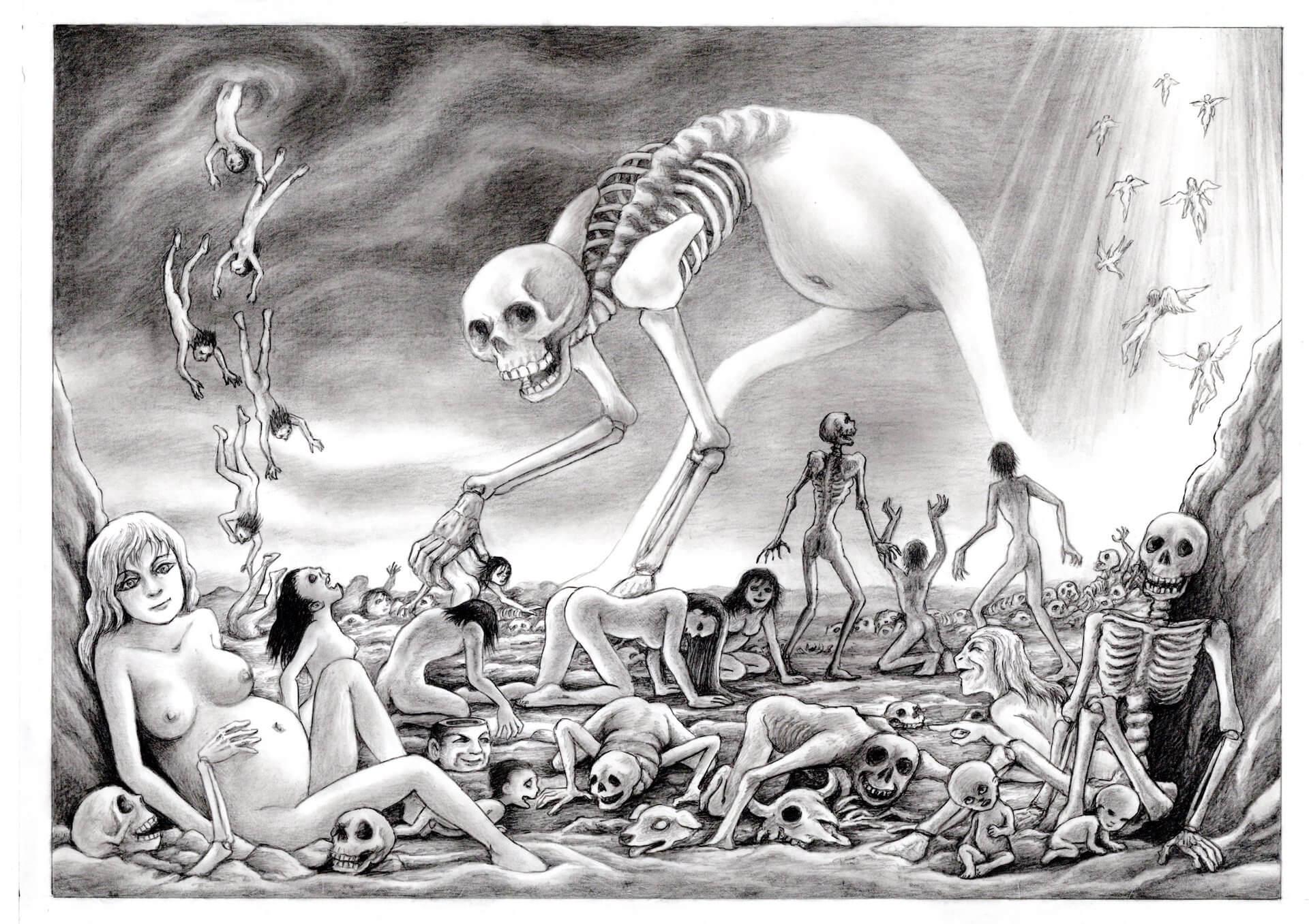 「死」からテクノロジーと社会の未来を問う展覧会<END展 死×テクノロジー×未来=?>の開催が決定! art211011_end_05