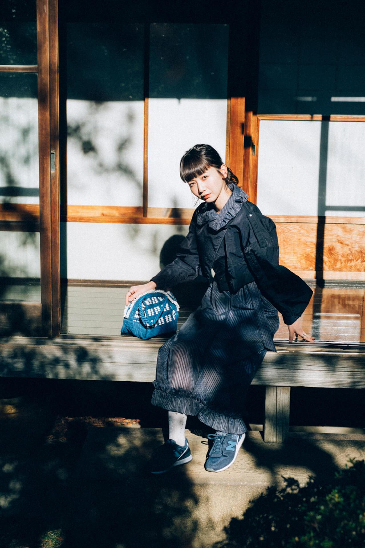 三戸なつめがニューバランス「WL996」の最新作でセルフコーディネート!特設サイトでインタビューも公開 life210401_newbalance996_yoshimura3