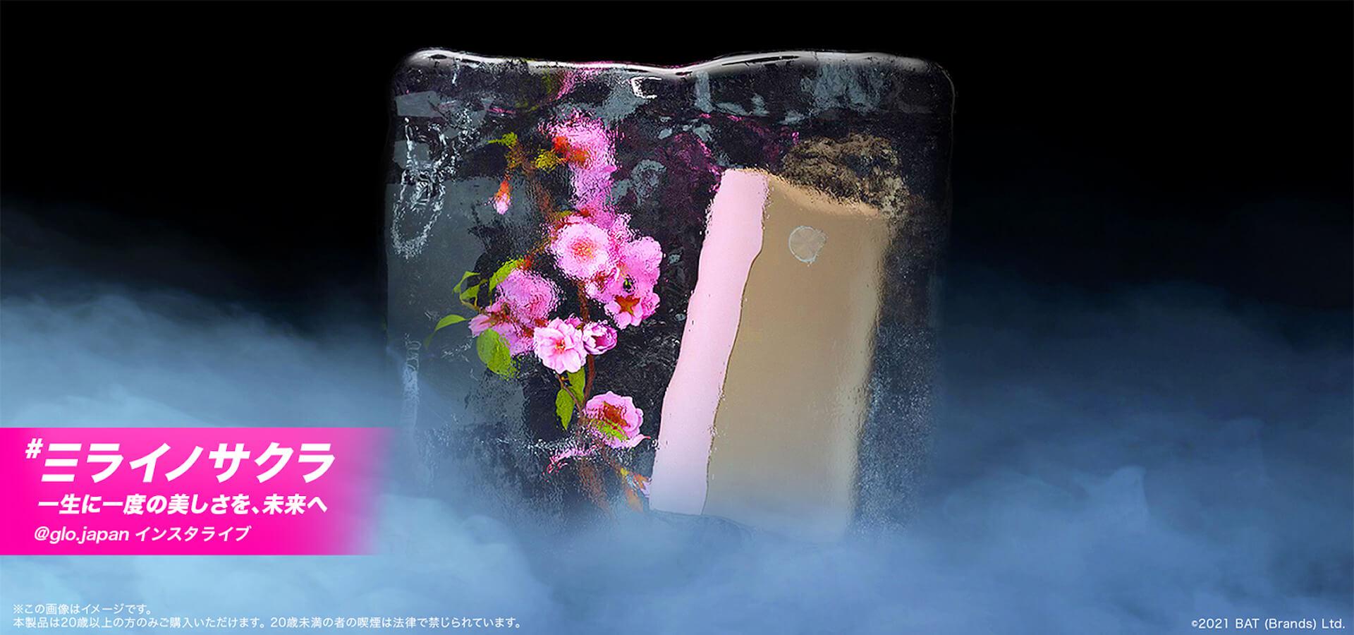 gloとblock.fmによるIGライブ「#ミライノサクラ」が開催決定!SKY-HI、☆Taku Takahashi、tofubeatsらが桜色のステージでライブ music210406_glo-blockfm-210406_2