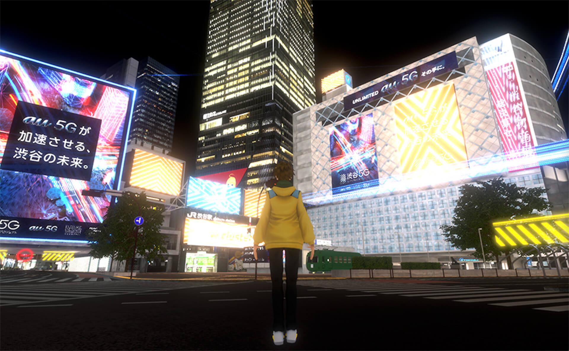 バーチャル渋谷にライブハウスがオープン!音楽ライブ<YOU MAKE SHIBUYA VIRTUAL MUSIC LIVE>総勢100組のラインナップが発表 music210414_virtualshibuya-210414_4