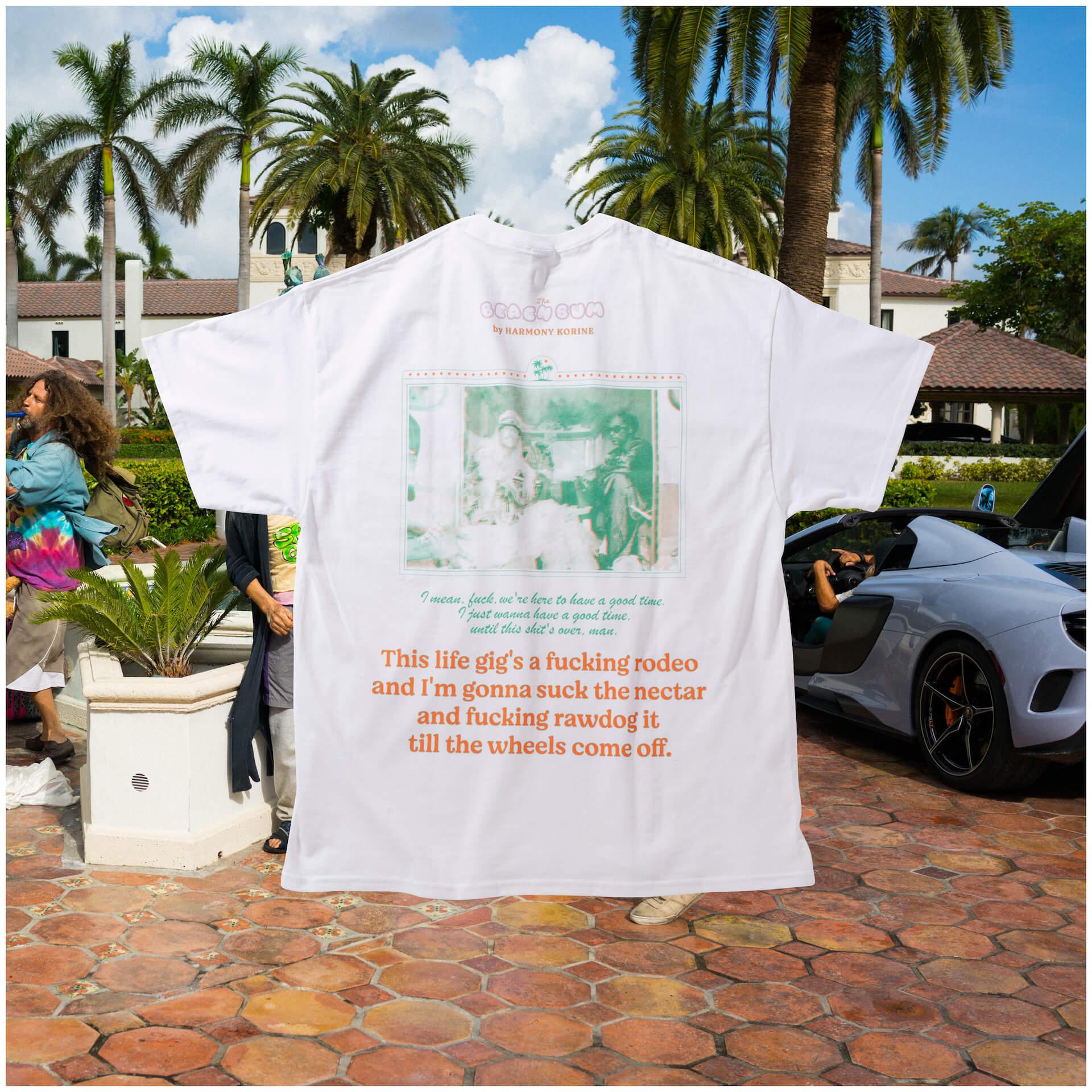 カルチャー紙POPEYEも熱狂!映画『ビーチ・バム まじめに不真面目』オリジナルTシャツが制作&発売決定 film210416_beachbum_tshirt_7