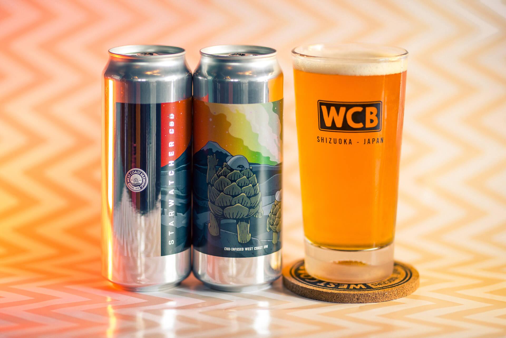 初回販売分即完売で話題のCBD入りビール『Starwatcher CBD』が追加販売スタート! gourmet210422_westcoastbrewing-210422_2