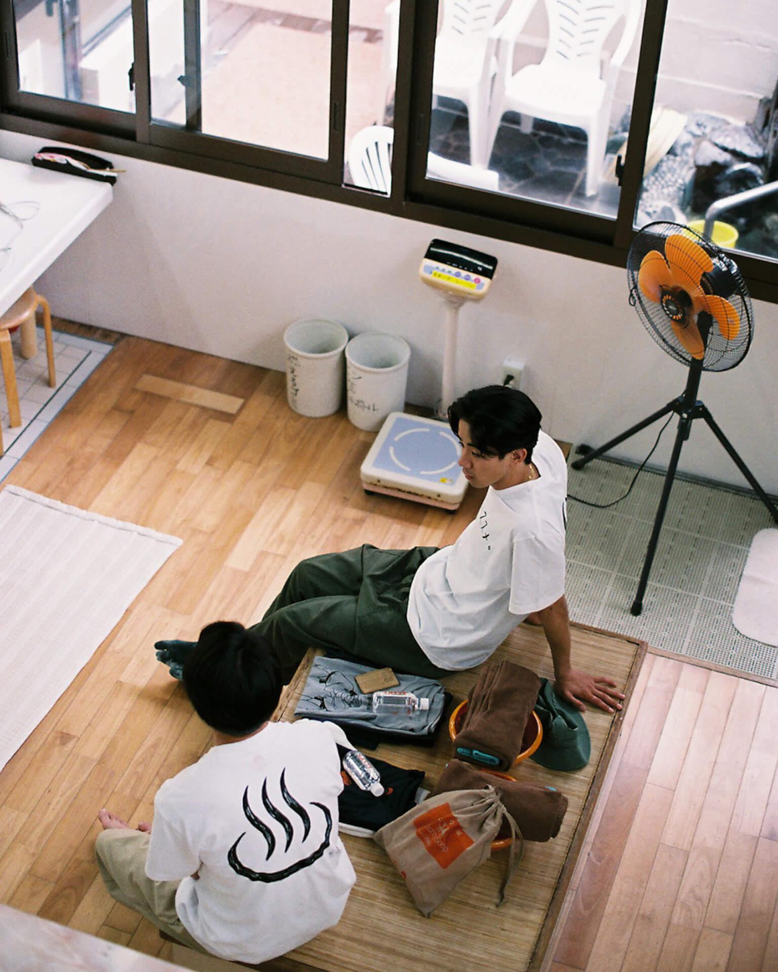 ヤマザキマリ描き下ろしの暖簾と銭湯絵が東上野の人気銭湯「寿湯」をジャック!<銭湯のススメ。2021>開催 art210423_sentounosusume-210423_6