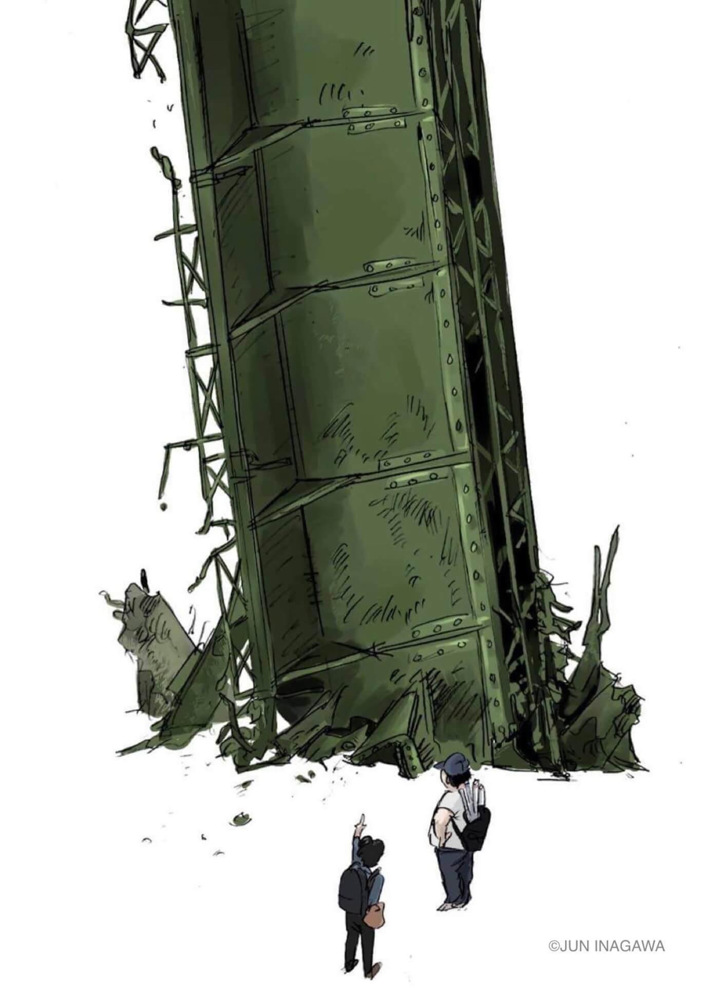 JUN INAGAWAの初作品集『情報破壊 マスメディアクラッシュ』がSHIBUYA TSUTAYAにて発売決定! art210423_juninagawa-210423_6