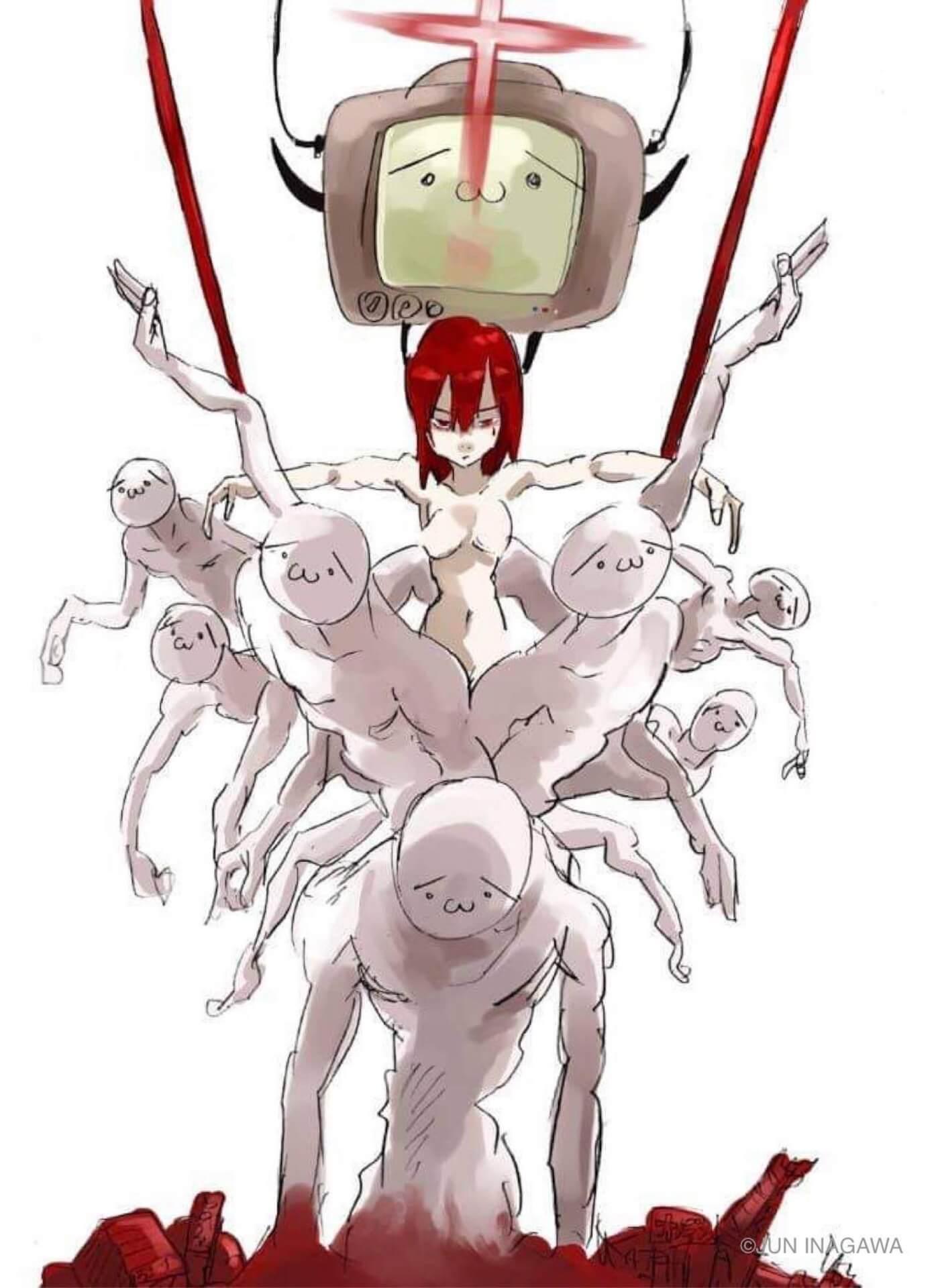 JUN INAGAWAの初作品集『情報破壊 マスメディアクラッシュ』がSHIBUYA TSUTAYAにて発売決定! art210423_juninagawa-210423_9