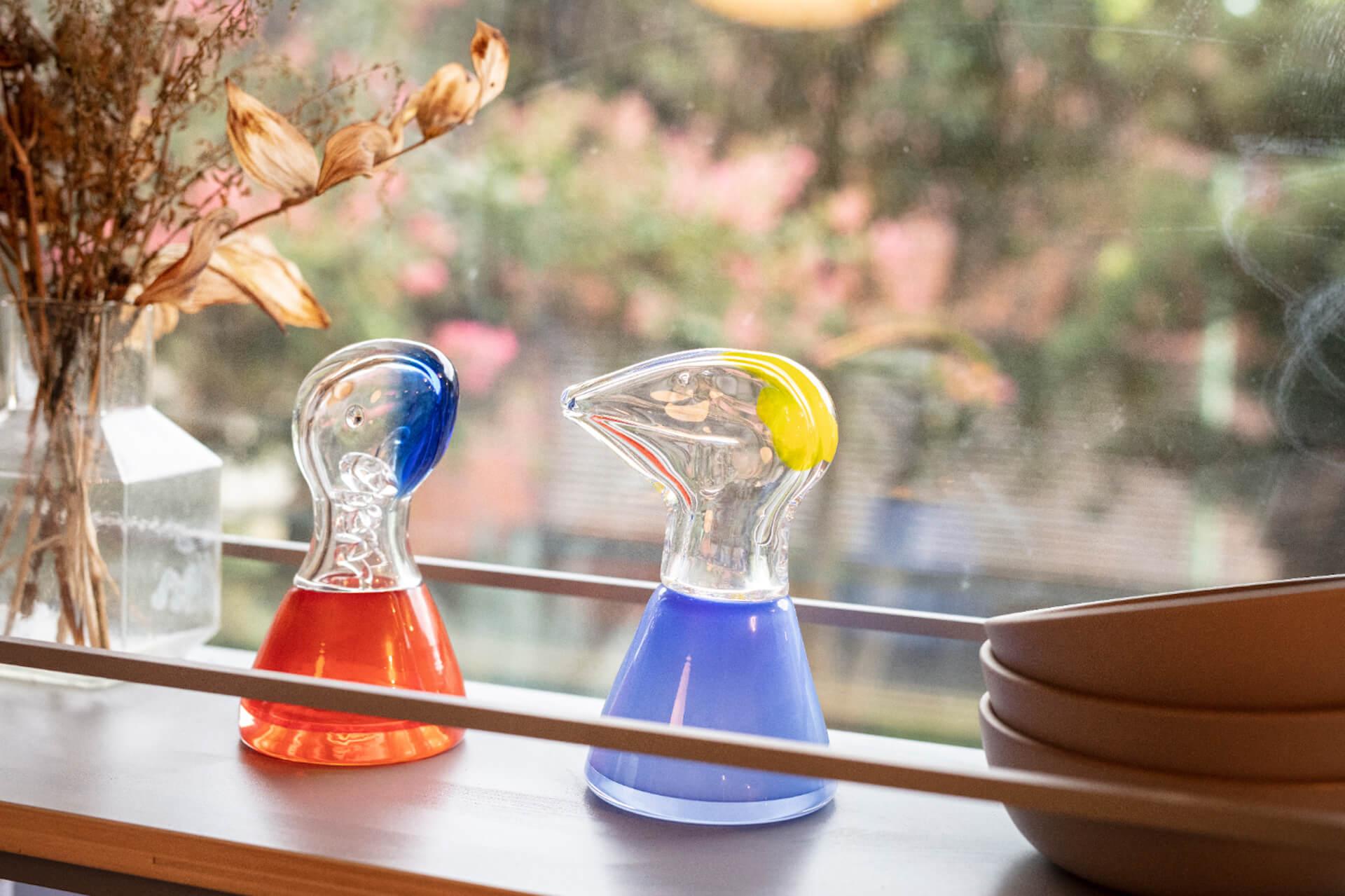 オオクボリュウのガラス作品第2弾『SAPPY COUPLE』が10作品限定で受注生産販売開始! art210423_ookuboryu-210423_1