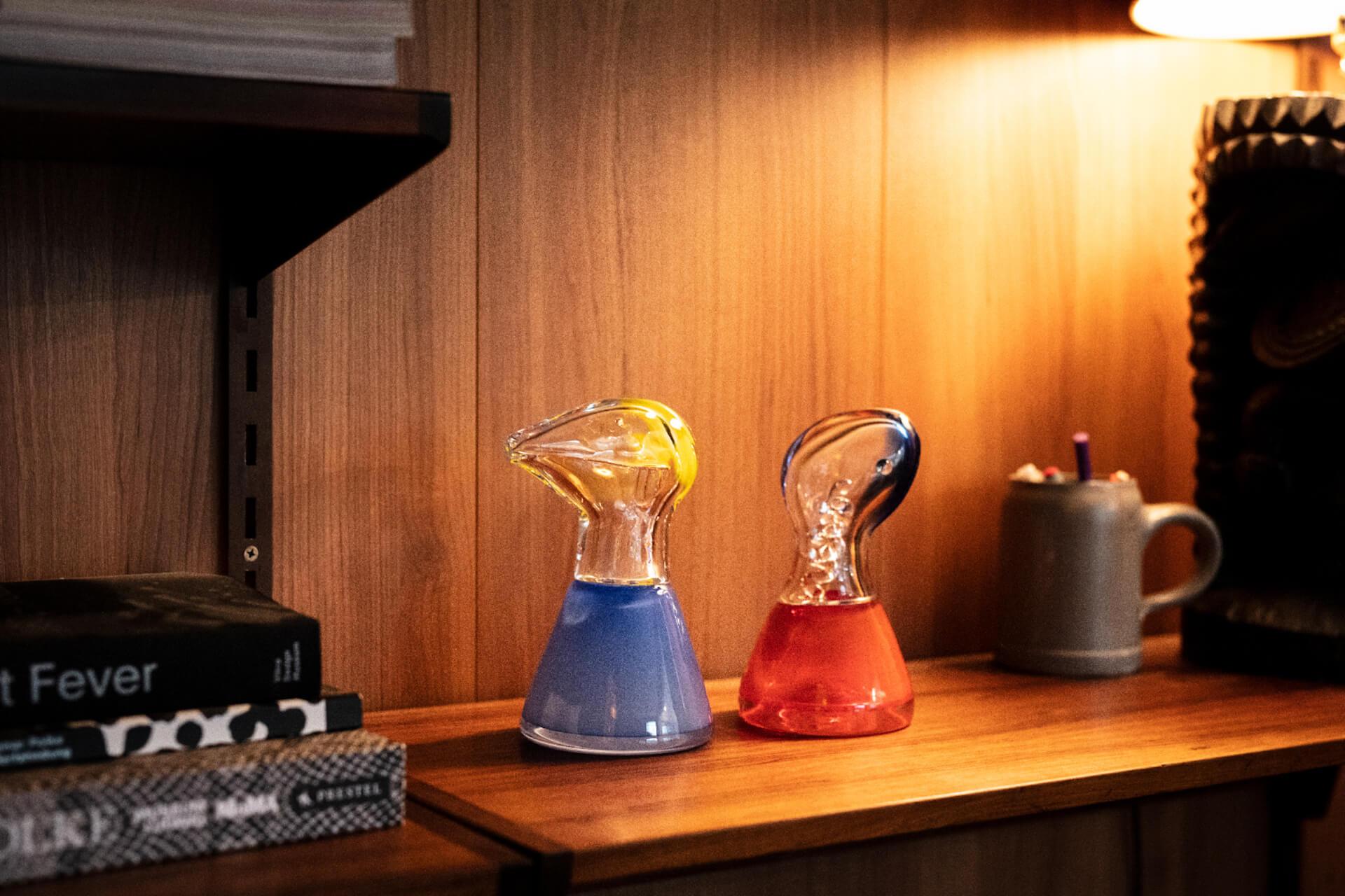 オオクボリュウのガラス作品第2弾『SAPPY COUPLE』が10作品限定で受注生産販売開始! art210423_ookuboryu-210423_2