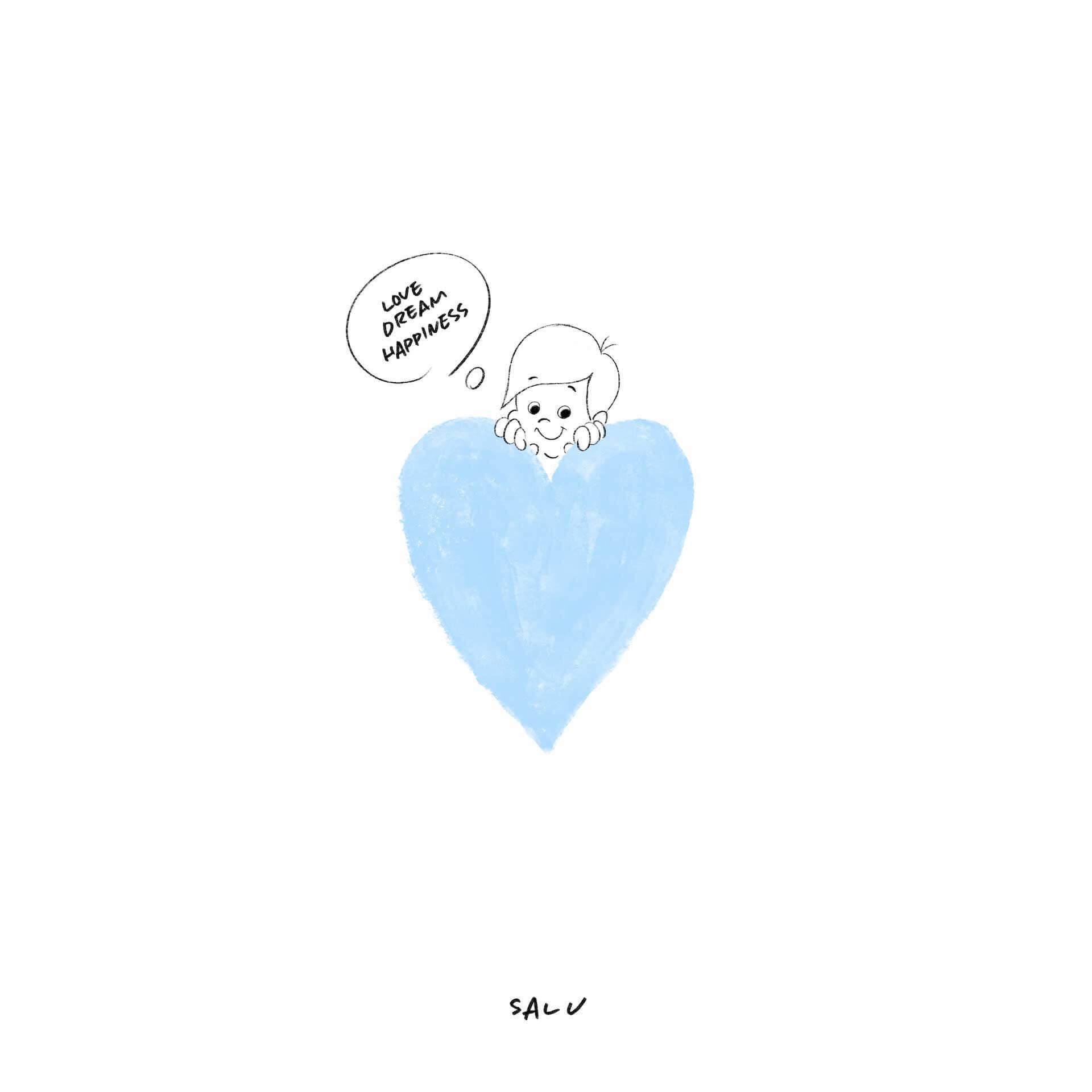 "SALUのニューシングル""LOVE DREAM HAPPINESS""のMVがYouTubeにてプレミア公開! music210426_salu-210426_2"