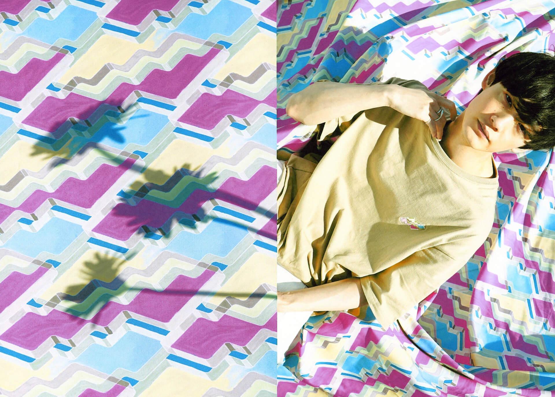向井太一『COLORLESS』リリース記念!デザイナー・KEISUKE SHODAとのコラボグッズが発売開始! music210513_mukai-taichi-210513_6