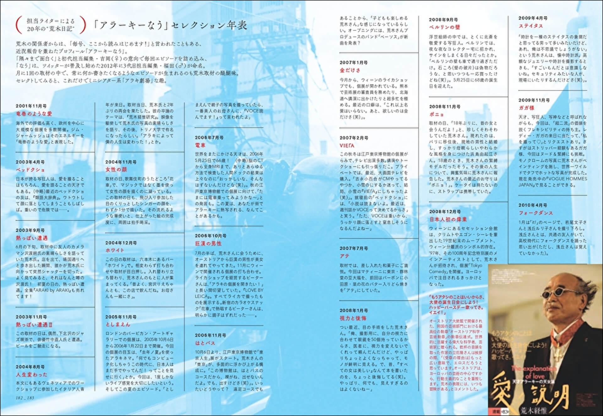 """""""アラーキー""""こと写真家・荒木経惟の20年間の名言と生涯の名作を集めた保存版「写真言集」が81歳の誕生日に発売! art210525_nobuyoshi-araki-210525_5"""