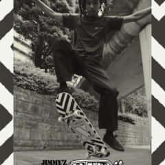 X-girl × JIMMY'Z
