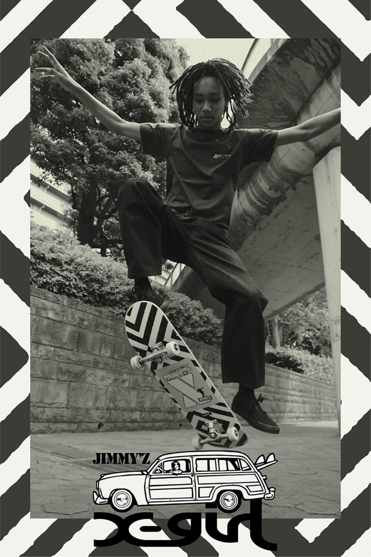 X-girlが南カリフォルニア発のサーフ&スケートブランドJIMMY'Zとのコラボコレクションを発表!先行予約開始中 life210607_jimmyz-x-girl_1